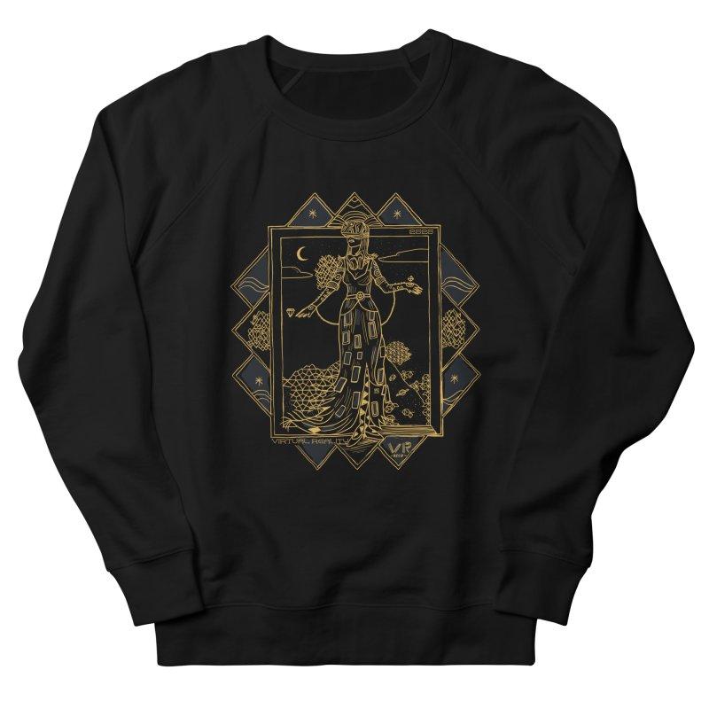 Virtua Deco Women's French Terry Sweatshirt by Thomas Orrow