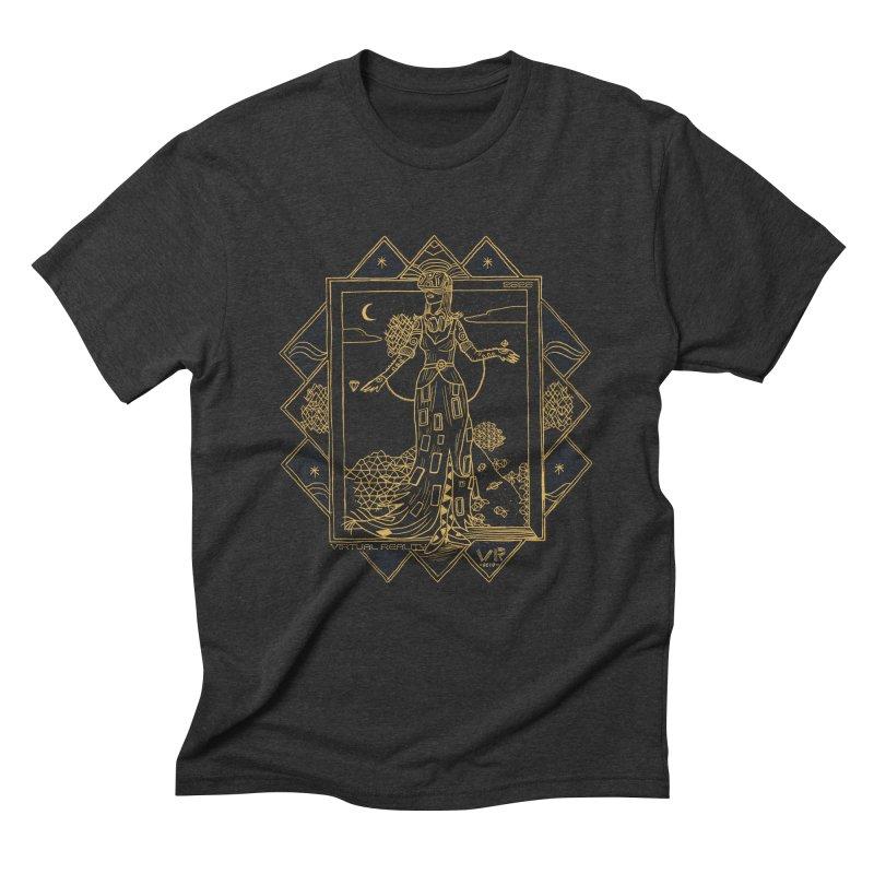 Virtua Deco Men's Triblend T-Shirt by Thomas Orrow