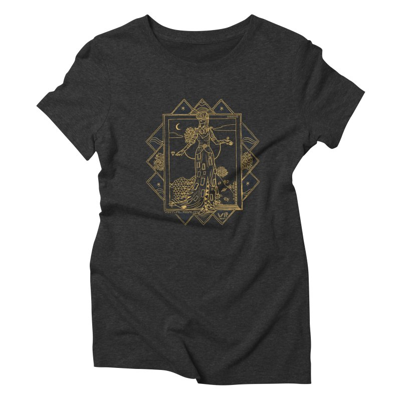 Virtua Deco Women's Triblend T-Shirt by Thomas Orrow
