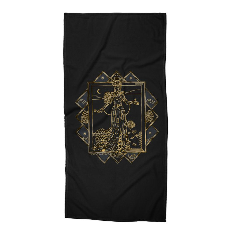 Virtua Deco Accessories Beach Towel by Thomas Orrow