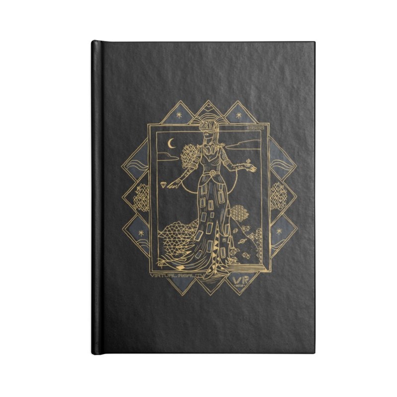 Virtua Deco Accessories Blank Journal Notebook by Thomas Orrow