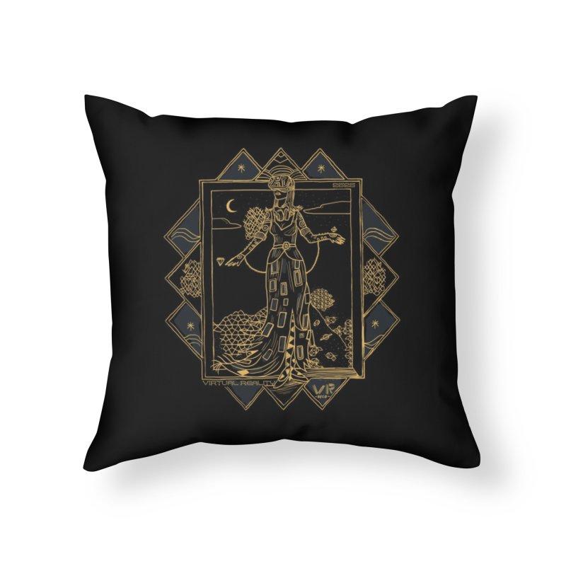 Virtua Deco Home Throw Pillow by Thomas Orrow