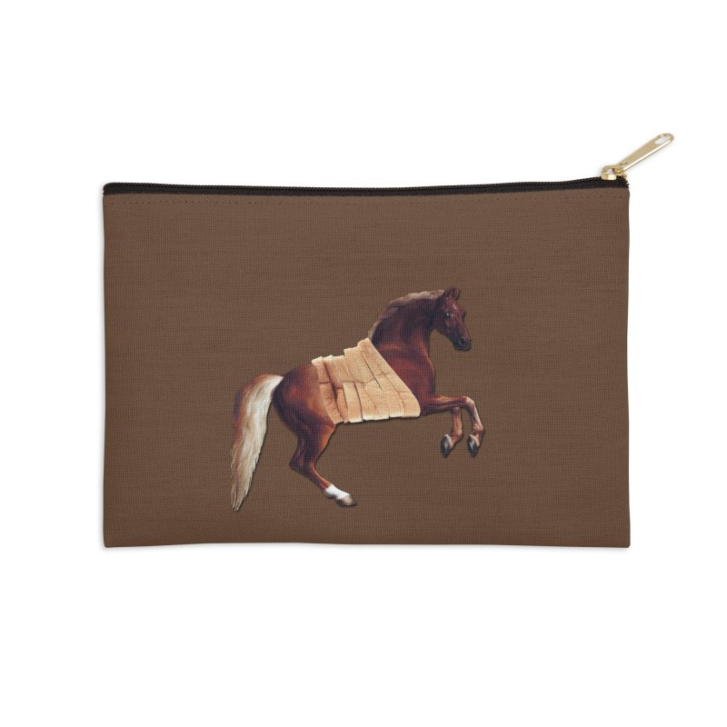 Thoroughbred Accessories Zip Pouch by Thomas Orrow