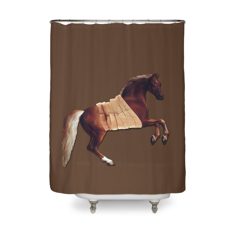 Thoroughbred Home Shower Curtain by Thomas Orrow