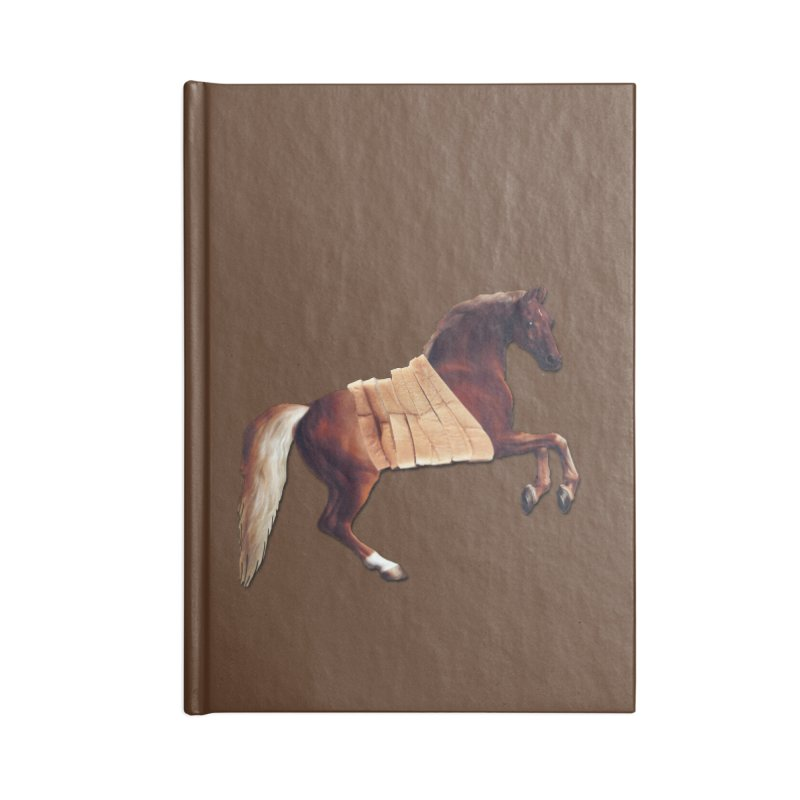 Thoroughbred Accessories Blank Journal Notebook by Thomas Orrow