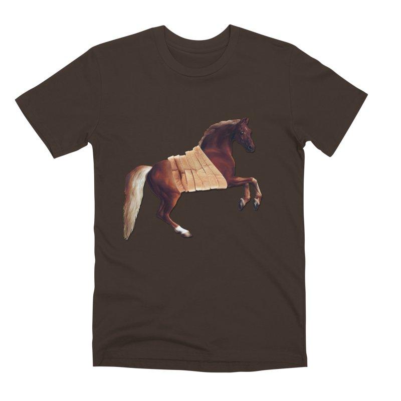 Thoroughbred Men's Premium T-Shirt by Thomas Orrow