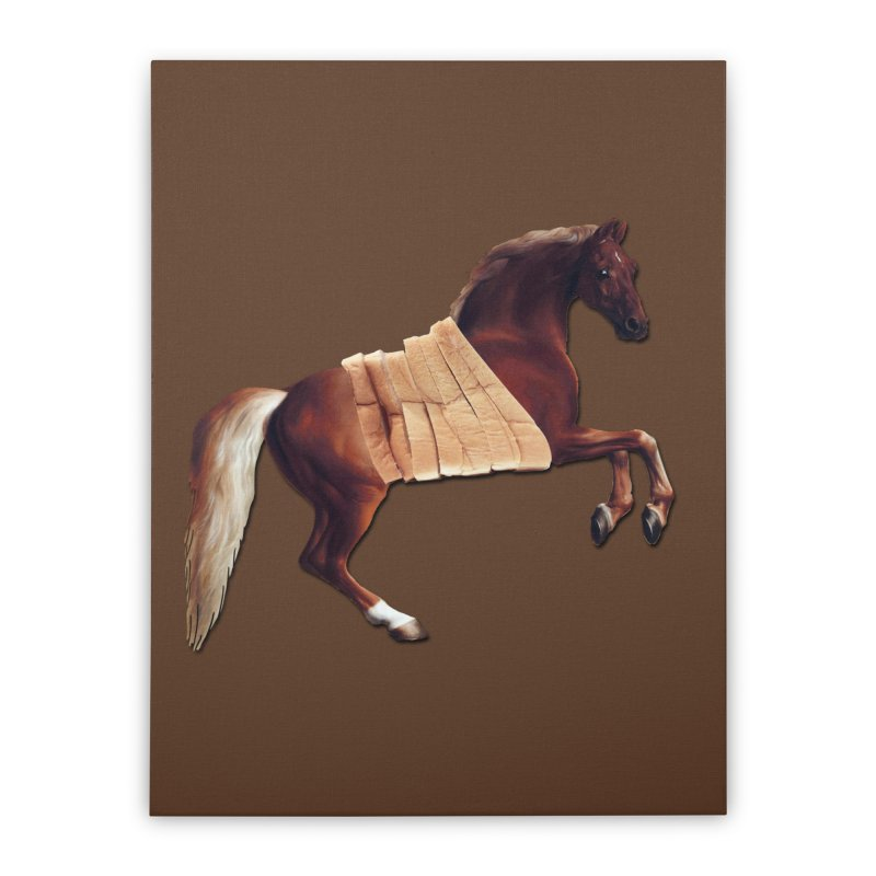 Thoroughbred Home Stretched Canvas by Thomas Orrow