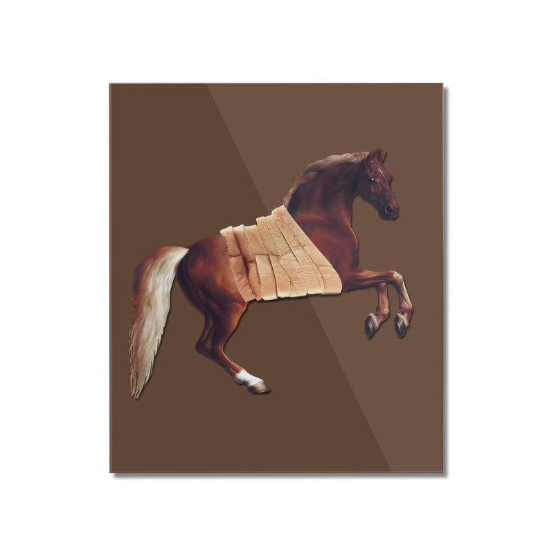 Thoroughbred Home Mounted Acrylic Print by Thomas Orrow