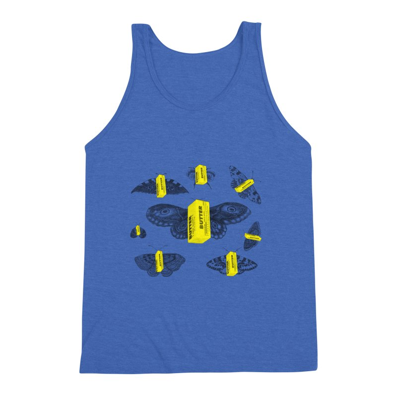 The Butterfly Collection Men's Triblend Tank by Thomas Orrow