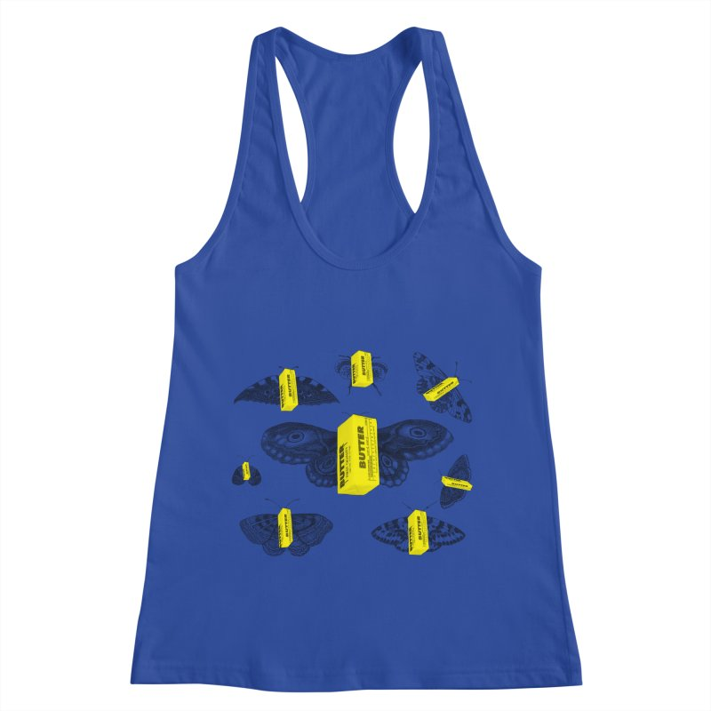 The Butterfly Collection Women's Racerback Tank by Thomas Orrow