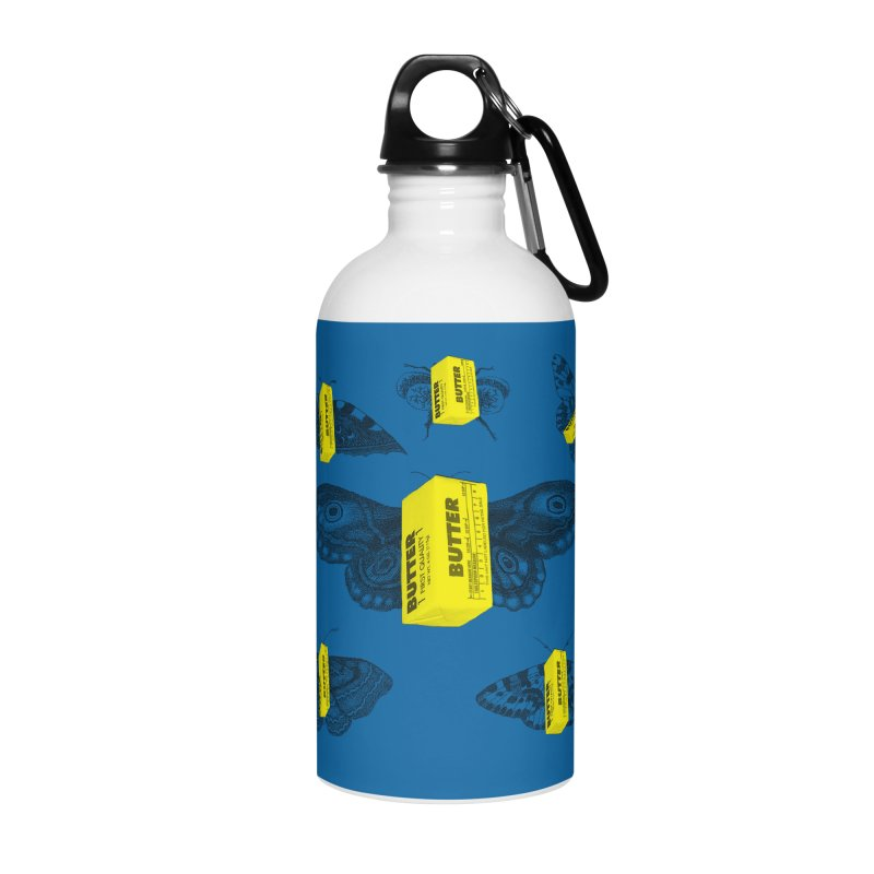 The Butterfly Collection Accessories Water Bottle by Thomas Orrow