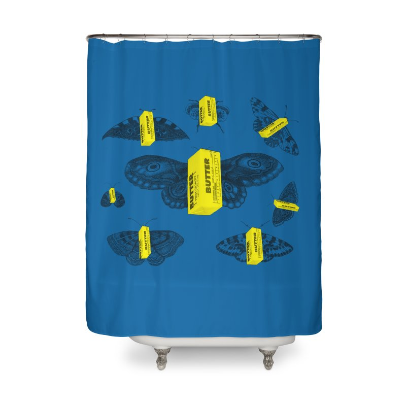 The Butterfly Collection Home Shower Curtain by Thomas Orrow