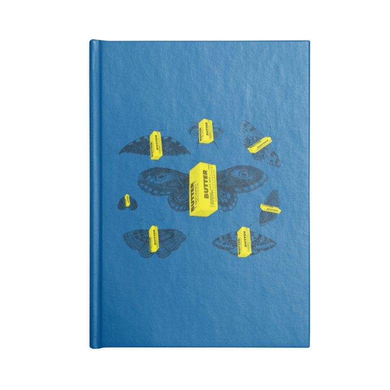 The Butterfly Collection Accessories Lined Journal Notebook by Thomas Orrow