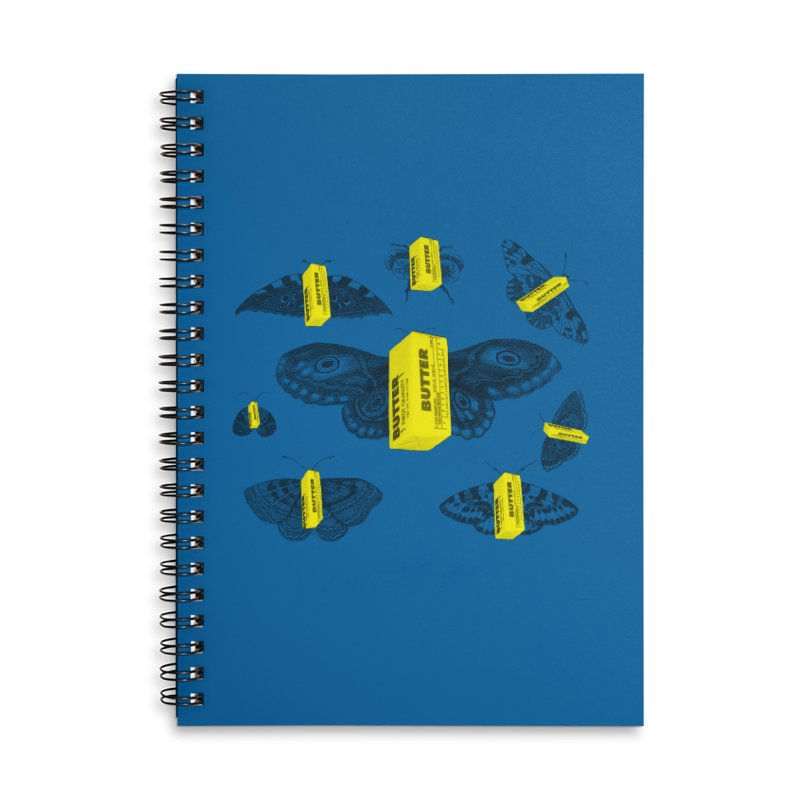 The Butterfly Collection Accessories Lined Spiral Notebook by Thomas Orrow