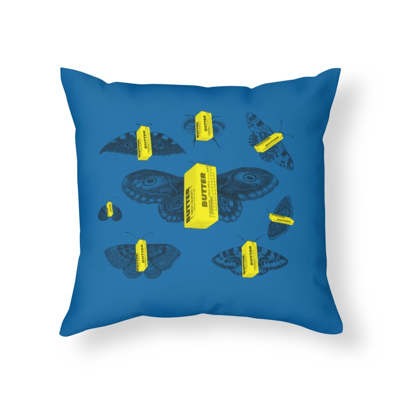 The Butterfly Collection Home Throw Pillow by Thomas Orrow