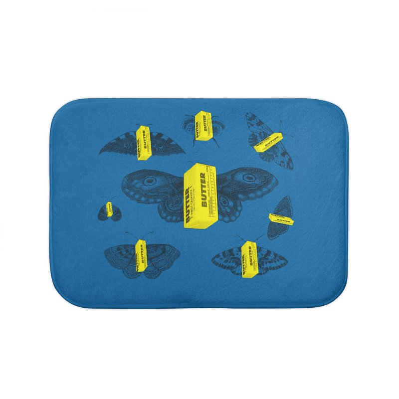 The Butterfly Collection Home Bath Mat by Thomas Orrow