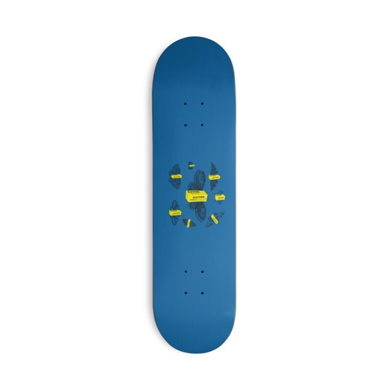 The Butterfly Collection Accessories Deck Only Skateboard by Thomas Orrow