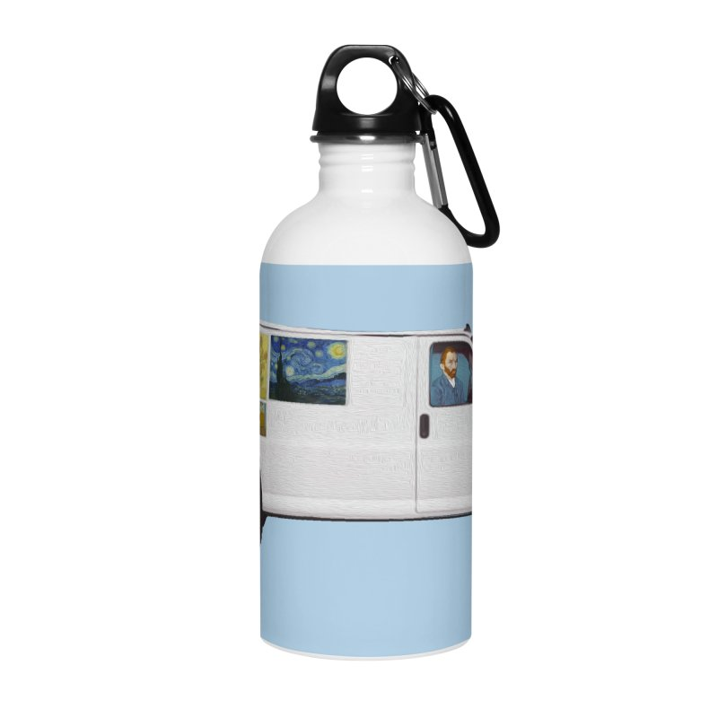 Van Gogh Accessories Water Bottle by Thomas Orrow