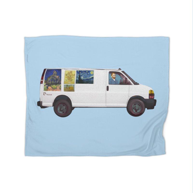 Van Gogh Home Fleece Blanket Blanket by Thomas Orrow