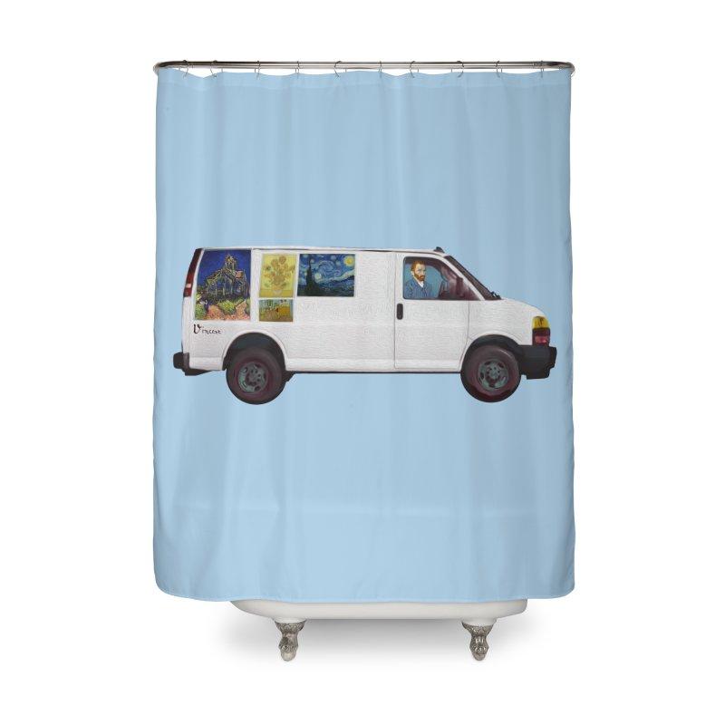 Van Gogh Home Shower Curtain by Thomas Orrow