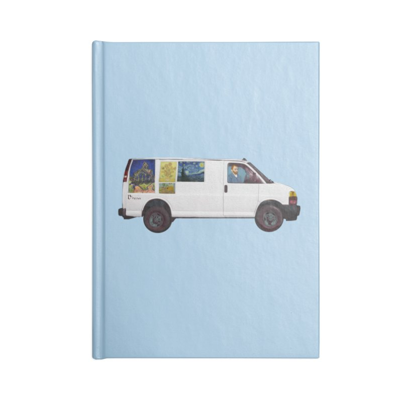 Van Gogh Accessories Lined Journal Notebook by Thomas Orrow