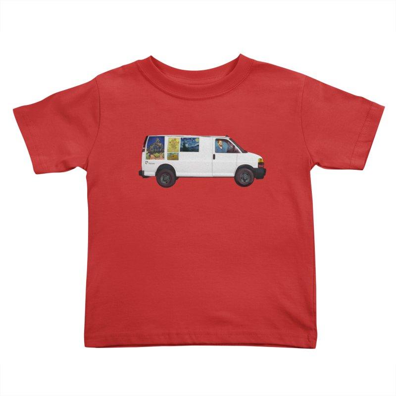 Van Gogh Kids Toddler T-Shirt by Thomas Orrow