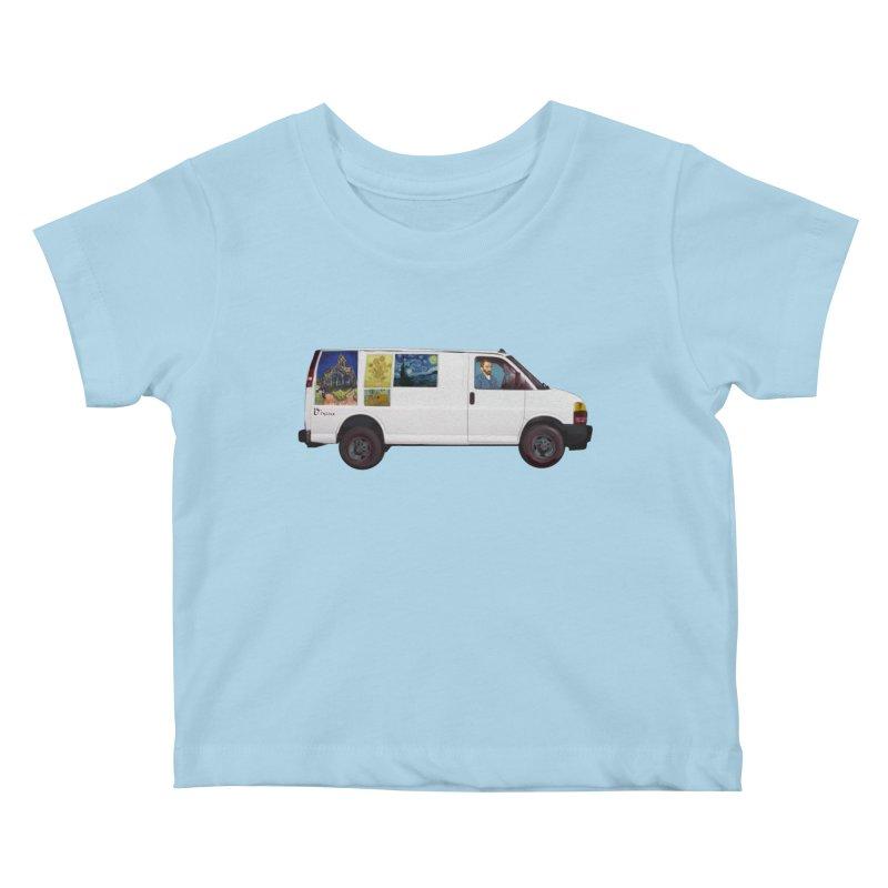 Van Gogh Kids Baby T-Shirt by Thomas Orrow