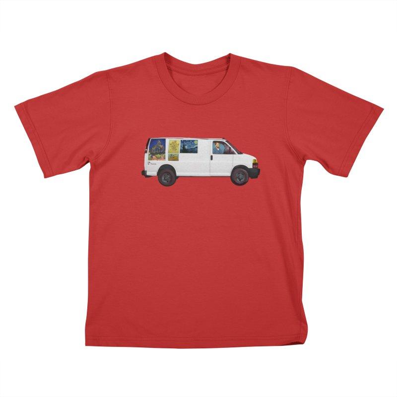 Van Gogh Kids T-Shirt by Thomas Orrow