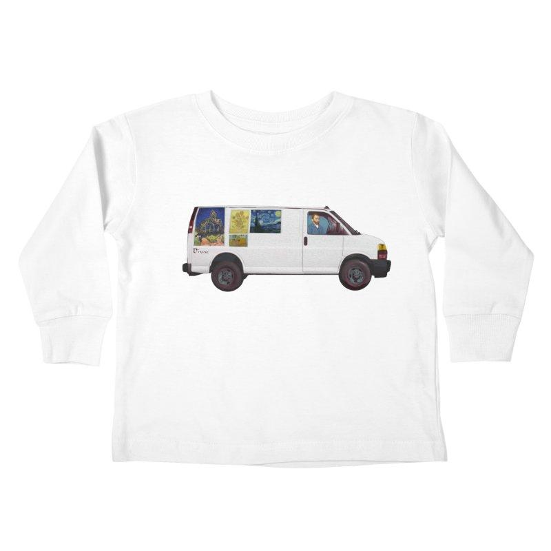 Van Gogh Kids Toddler Longsleeve T-Shirt by Thomas Orrow