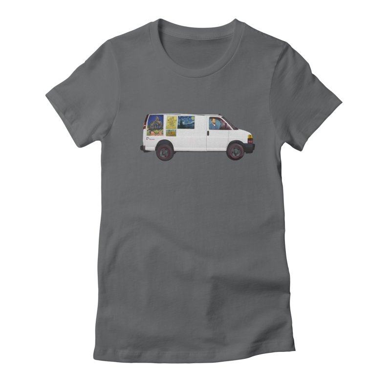 Van Gogh Women's Fitted T-Shirt by Thomas Orrow