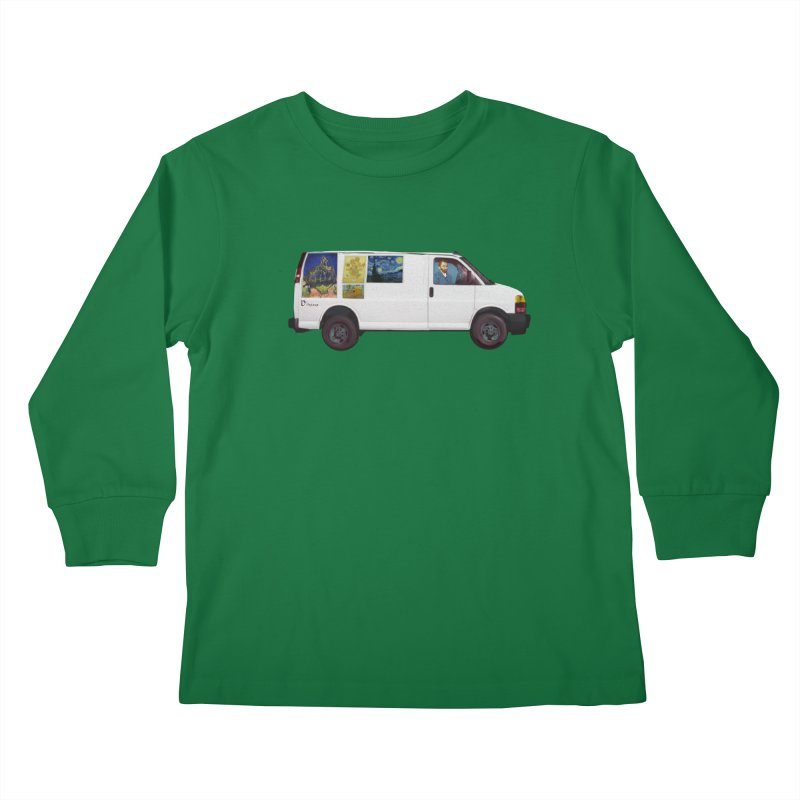 Van Gogh Kids Longsleeve T-Shirt by Thomas Orrow