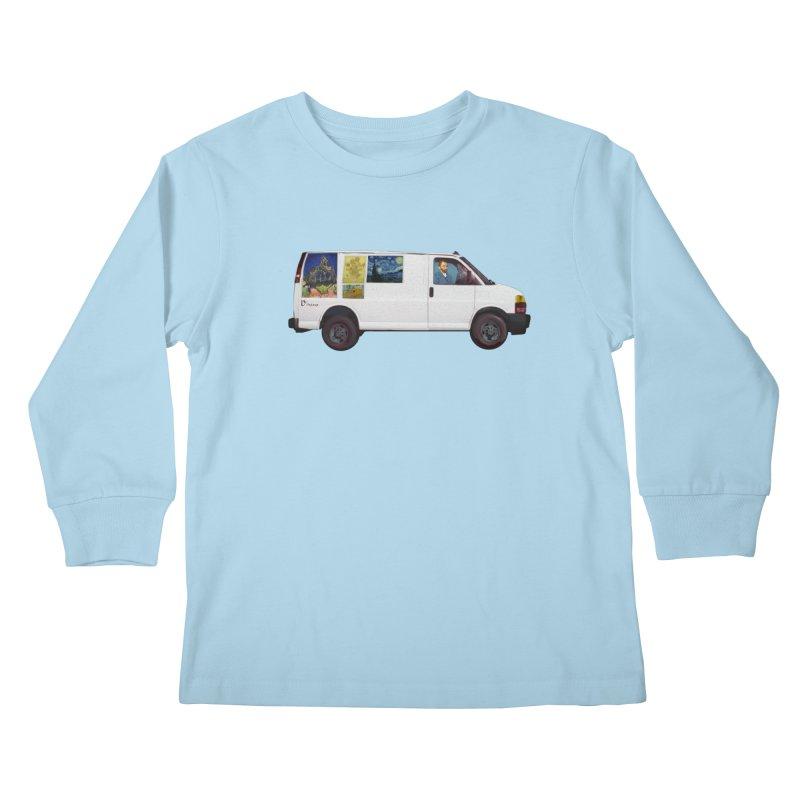 Van Gogh Kids Longsleeve T-Shirt by Thomas Orrow