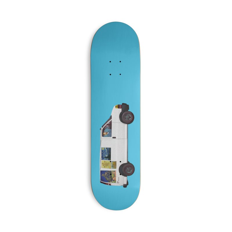 Van Gogh Accessories Deck Only Skateboard by Thomas Orrow