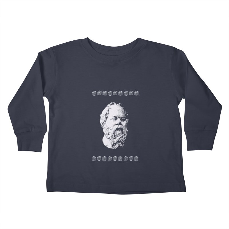 So Crates Kids Toddler Longsleeve T-Shirt by Thomas Orrow