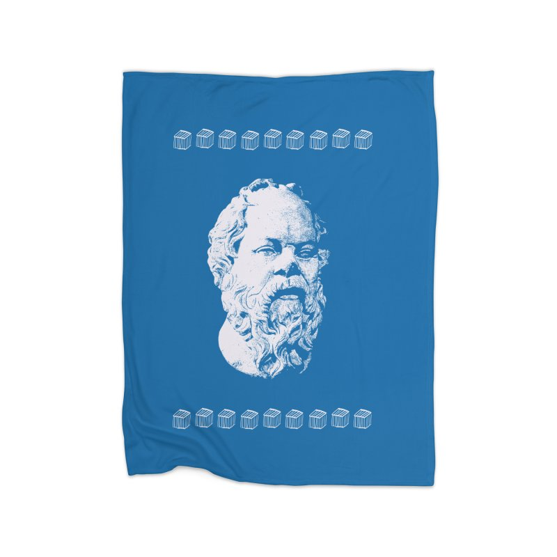 So Crates Home Fleece Blanket Blanket by Thomas Orrow