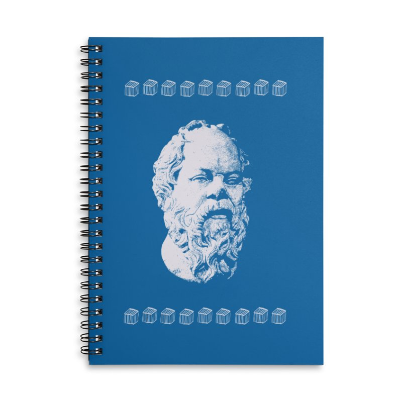 So Crates Accessories Lined Spiral Notebook by Thomas Orrow