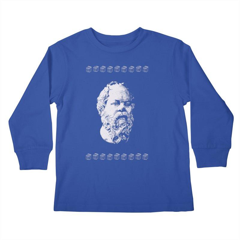 So Crates Kids Longsleeve T-Shirt by Thomas Orrow