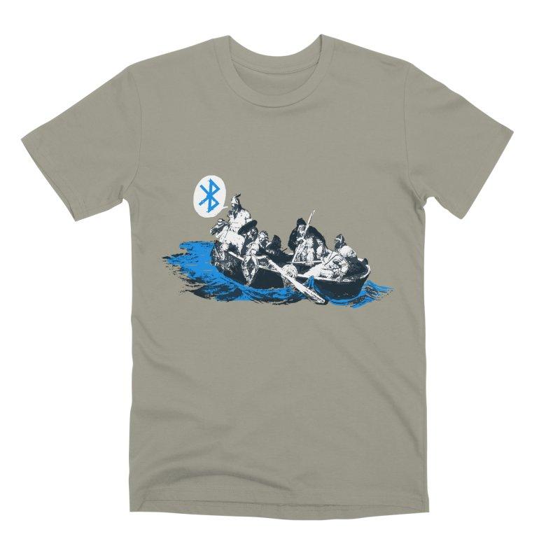 Runic Men's Premium T-Shirt by Thomas Orrow