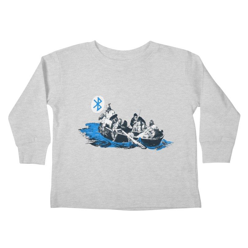 Runic Kids Toddler Longsleeve T-Shirt by Thomas Orrow