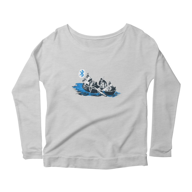 Runic Women's Scoop Neck Longsleeve T-Shirt by Thomas Orrow