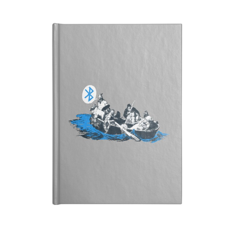 Runic Accessories Blank Journal Notebook by Thomas Orrow