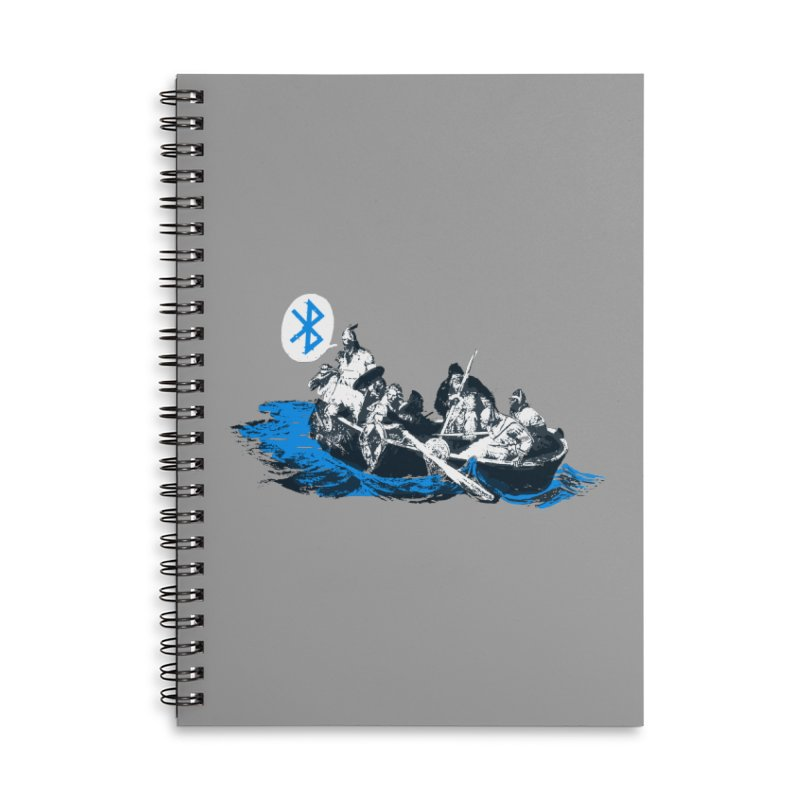 Runic Accessories Lined Spiral Notebook by Thomas Orrow