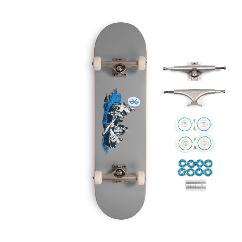 Runic Accessories Complete - Basic Skateboard by Thomas Orrow