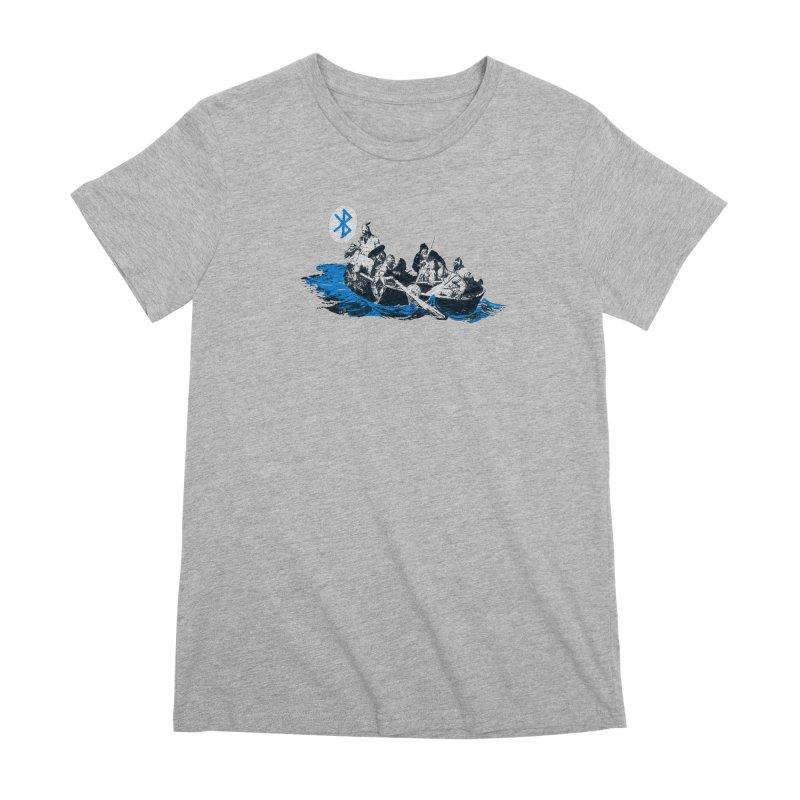 Runic Women's Premium T-Shirt by Thomas Orrow