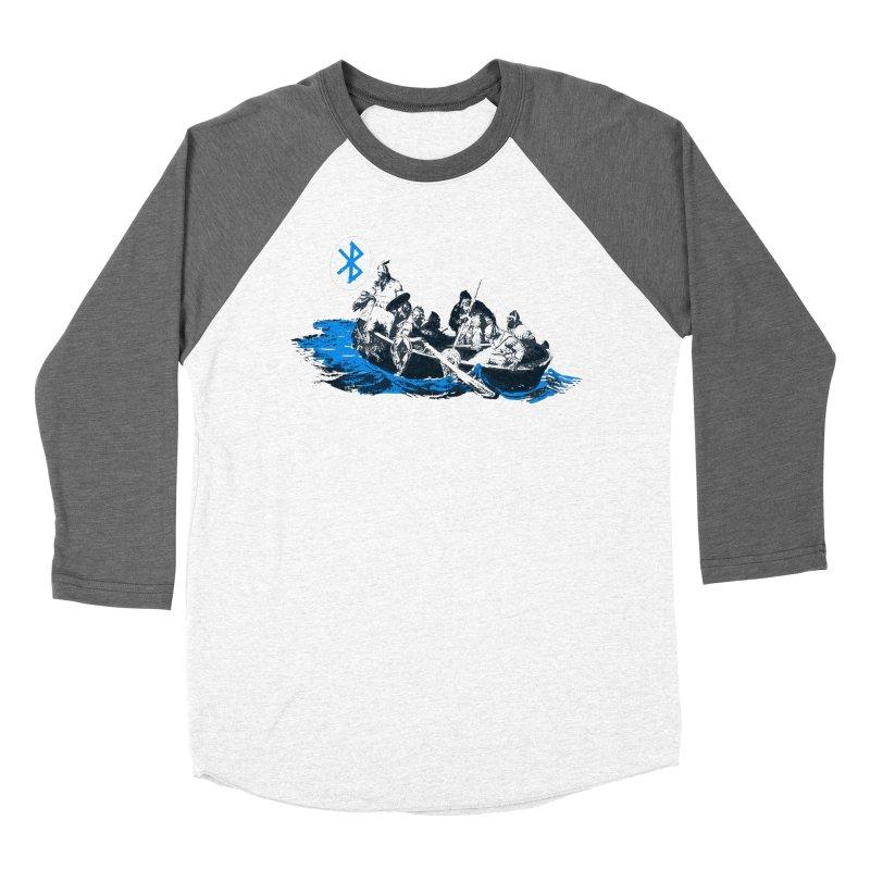 Runic Men's Baseball Triblend Longsleeve T-Shirt by Thomas Orrow