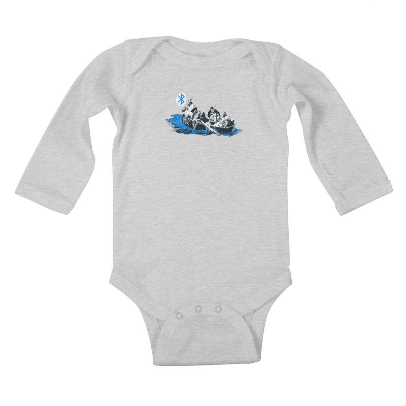 Runic Kids Baby Longsleeve Bodysuit by Thomas Orrow