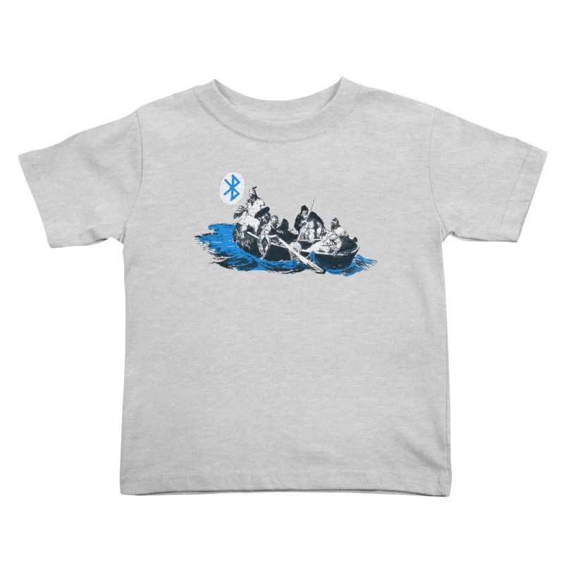 Runic Kids Toddler T-Shirt by Thomas Orrow