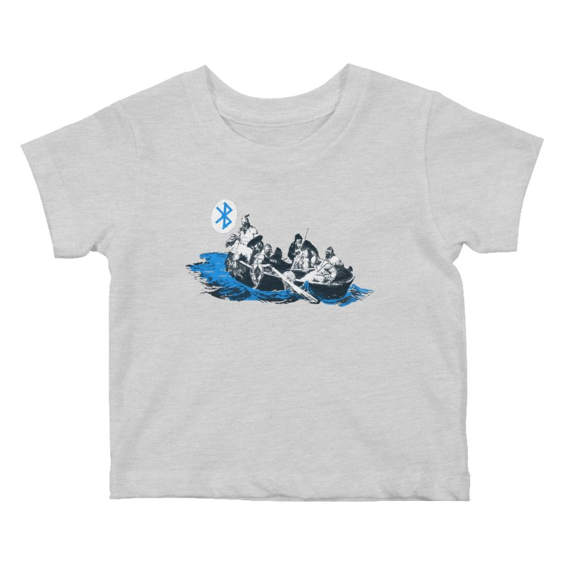 Runic Kids Baby T-Shirt by Thomas Orrow
