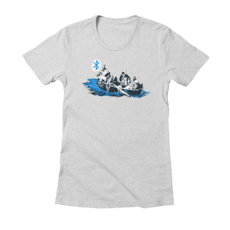 Runic Women's Fitted T-Shirt by Thomas Orrow