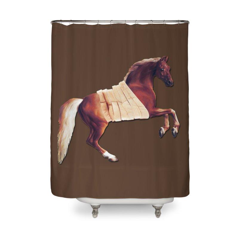 Thoroughbread Home Shower Curtain by Thomas Orrow